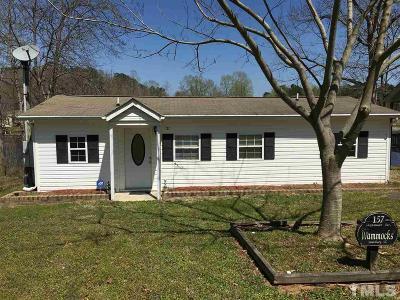 Louisburg Single Family Home For Sale: 157 Sagamore Drive