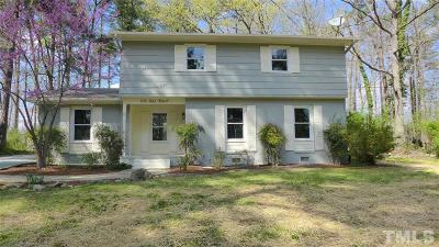 Chapel Hill Single Family Home Contingent: 106 Ray Road