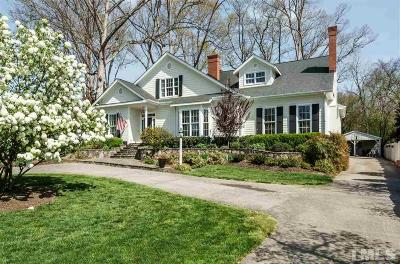 Raleigh Single Family Home For Sale: 414 Yarmouth Road