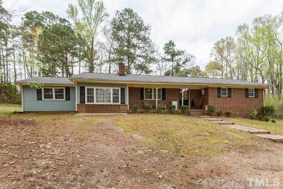 Single Family Home For Sale: 4225 Nc 42 Highway