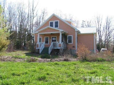 Rougemont Single Family Home For Sale: 229 Potluck Farm Road