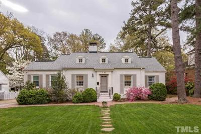 Raleigh Single Family Home For Sale: 2726 Anderson Drive