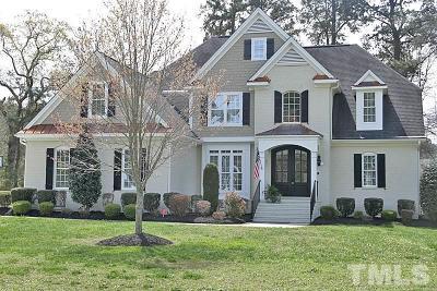 Zebulon Single Family Home For Sale: 3122 Ginger Lake Court
