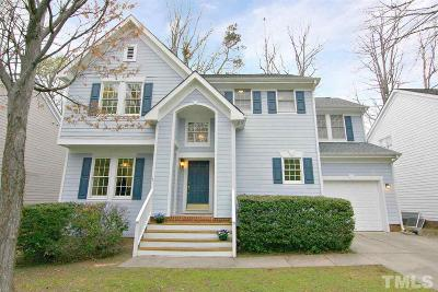 Cary Single Family Home Contingent: 202 Snow Camp Drive