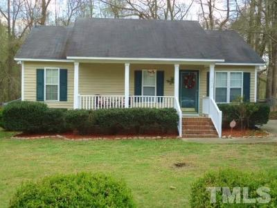 Knightdale Single Family Home Contingent: 5912 Sandy Run