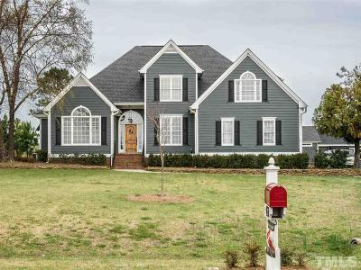 Angier Single Family Home Contingent: 217 Highland Drive