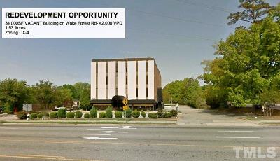 Raleigh Commercial For Sale: 4109 Wake Forest Road