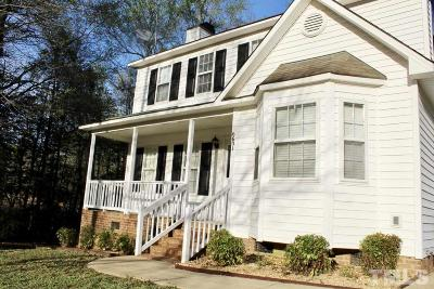 Raleigh Single Family Home Contingent: 6601 Winterton Drive