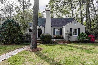 Raleigh Single Family Home For Sale: 2708 Kittrell Drive