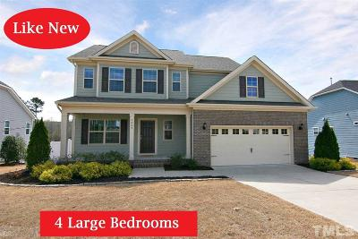 Knightdale Single Family Home Contingent: 3009 Peachtree Town Lane