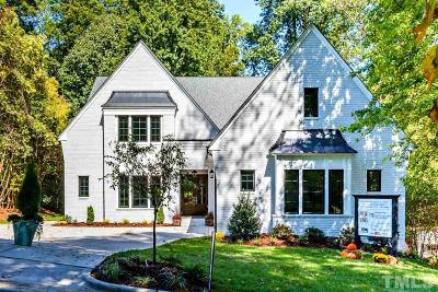 Raleigh Single Family Home For Sale: 1831 Ridge Road