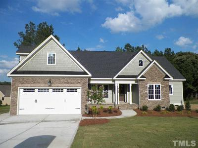 Raleigh Single Family Home For Sale: 6105 Spring Branch Lane #Lot 34
