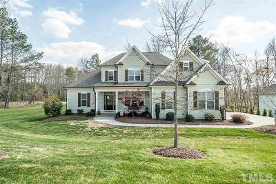 Durham County Single Family Home Contingent: 6403 Cabin Branch Drive