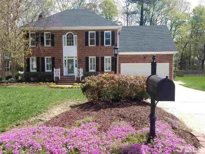 Raleigh Single Family Home For Sale: 6436 Northwyck Place