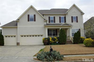 Morrisville Single Family Home Contingent: 117 Bayless Ridge Court