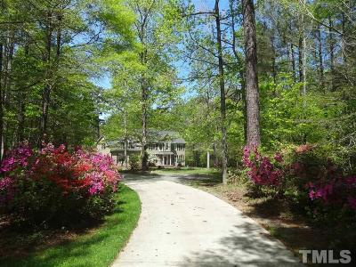 Chapel Hill Single Family Home For Sale: 2317 Ridgewood Road