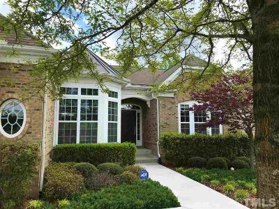 Cary Single Family Home Contingent: 223 Beckingham Loop