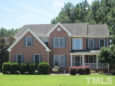 Wake Forest Single Family Home For Sale: 6413 Canning Place