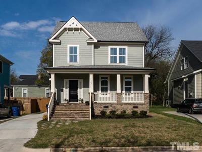 Raleigh Single Family Home For Sale: 103 N Pettigrew Street