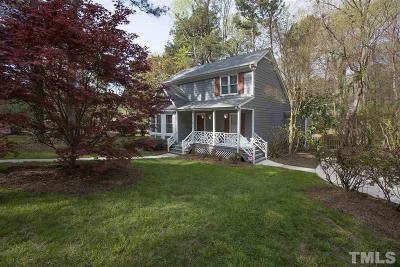Cary Single Family Home Contingent: 1210 Wicklow Drive