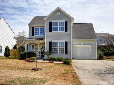 Morrisville Single Family Home Contingent: 309 Downing Glen Drive