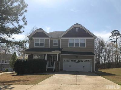 Youngsville Single Family Home For Sale: 295 Clubhouse Drive
