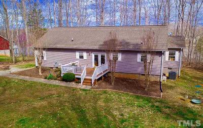 Roxboro NC Single Family Home For Sale: $325,000