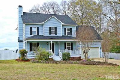 Fuquay Varina Single Family Home For Sale: 59 Troy Drive