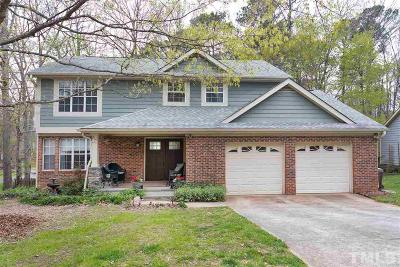 Cary Single Family Home Pending: 214 Norham Drive