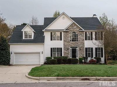 Cary Single Family Home Contingent: 114 Littleford Lane