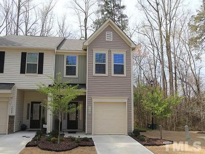 Wake Forest Townhouse For Sale: 1400 Chatuga Way