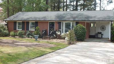 Wendell Single Family Home Pending: 115 Commander Drive