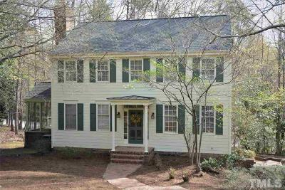 Chapel Hill Single Family Home Contingent: 105 Eastridge Place