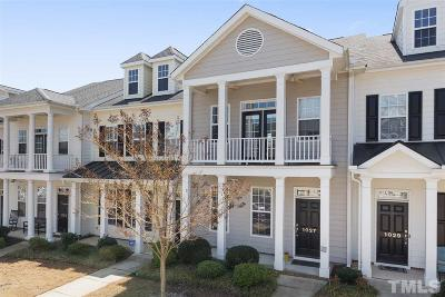 Chatham County Townhouse For Sale: 1027 Christopher Drive