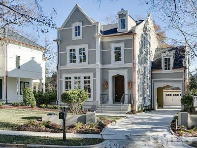 Raleigh Single Family Home For Sale: 1602 Jarvis Street