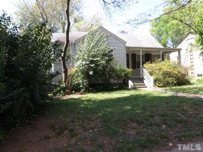 Raleigh Single Family Home For Sale: 418 Bickett Boulevard
