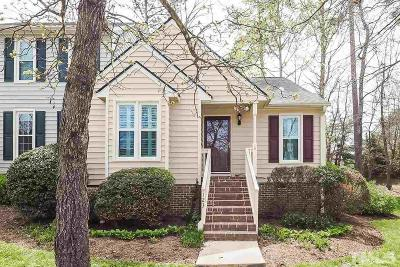 Apex Townhouse Contingent: 123 Heatherwood Drive