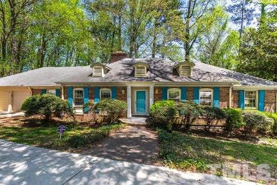 Raleigh Single Family Home For Sale: 6912 Valley Lake Drive
