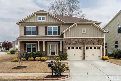 Knightdale Single Family Home For Sale: 1026 Brintons Mill Lane