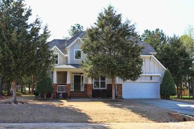 Youngsville Single Family Home For Sale: 25 Glasview Lane