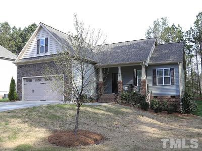Youngsville Single Family Home Pending: 55 Ferntree Lane