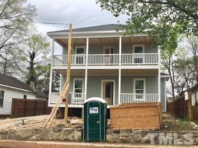 Raleigh Single Family Home For Sale: 1004 S Blount Street