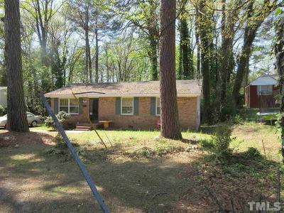 Wake County Single Family Home For Sale: 117 Bertie Drive