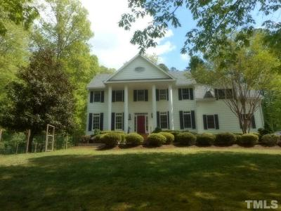 Pittsboro Single Family Home For Sale: 1124 Redbud