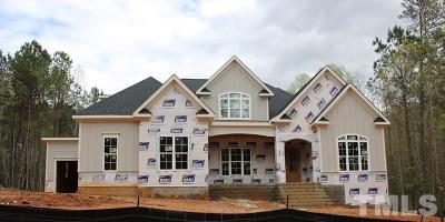 Raleigh Single Family Home For Sale: 1600 Rock Dove Way