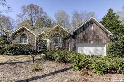 Chapel Hill Single Family Home For Sale: 407 Lancaster Drive