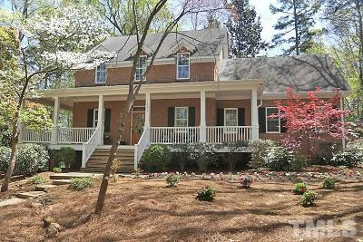 Chapel Hill Single Family Home For Sale: 1431 Arboretum Drive