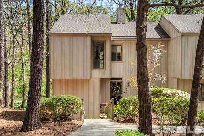 Cary Townhouse Contingent: 458 Pebble Creek Drive
