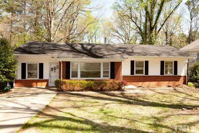 Raleigh Single Family Home Contingent: 341 Meredith Street