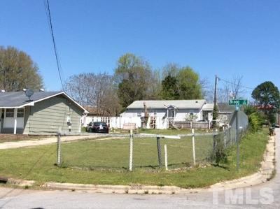 Raleigh Residential Lots & Land Contingent: 107 Bragg Street